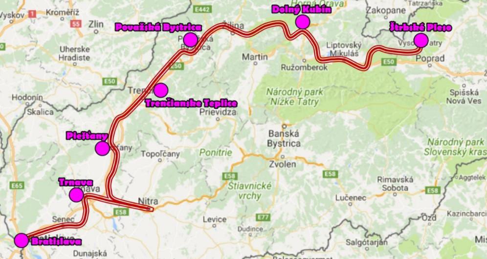 TIS  Od Tatier k Dunaju aj cez Nitru - Kam v meste  3d6da202974